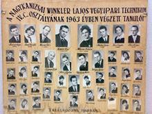 1963 - 4.C osztály