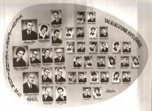 1965 - Vegyipari technikus évfolyam