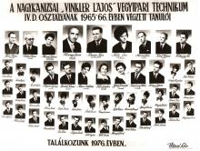 1966 - 4.D osztály
