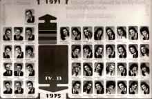 1975 - 4.B osztály