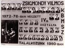 1976 - 4.B osztály