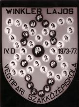 1977 - 4.D osztály