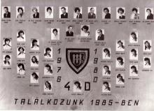 1980 - 4.D osztály