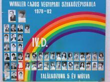 1982 - 4.D osztály