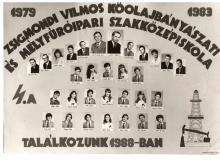 1983 - 4.A osztály