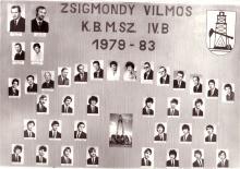 1983 - 4.B osztály