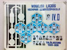 1984 - 4.D osztály