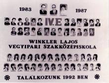 1987 - 4.E osztály