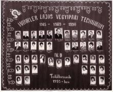 1989 - 4.D osztály