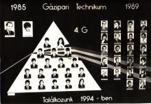 1989 - 4.G osztály