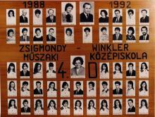 1992 - 4.D osztály