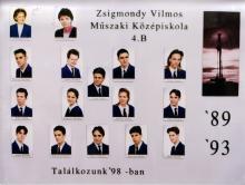1993 - 4.B osztály
