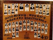 1993 - 4.D osztály