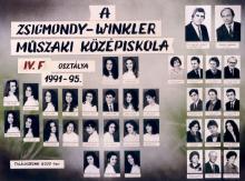 1995 - 4.F osztály