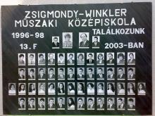 1998 - 13.F osztály