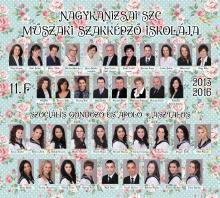 2016 - 11.F osztály